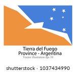 high detailed vector flag of... | Shutterstock .eps vector #1037434990