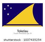 high detailed vector flag of... | Shutterstock .eps vector #1037435254