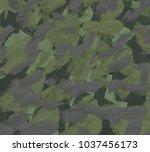 oil painting on canvas handmade....   Shutterstock . vector #1037456173