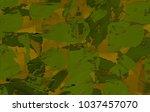oil painting on canvas handmade....   Shutterstock . vector #1037457070
