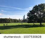 sunny day in central park nyc | Shutterstock . vector #1037530828