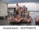 ologa  lake maracaibo ... | Shutterstock . vector #1037548270