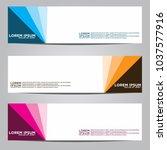 vector design banner... | Shutterstock .eps vector #1037577916