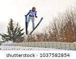 rasnov  romania   5 7 march... | Shutterstock . vector #1037582854