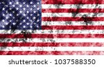 old united states grunge... | Shutterstock . vector #1037588350