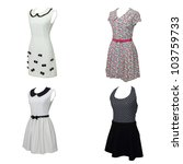 women's clothing isolated on... | Shutterstock . vector #103759733