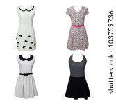 women's clothing isolated on... | Shutterstock . vector #103759736