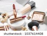 luxury beautiful light  design...   Shutterstock . vector #1037614408