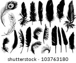 illustration with black... | Shutterstock .eps vector #103763180