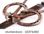 Horse Nippers  Rasp And Shoes...