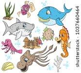 vector children illustration ...   Shutterstock .eps vector #1037660464