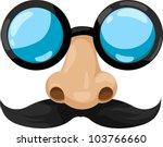 Illustration Clown Glasses