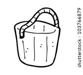 cartoon old wooden bucket | Shutterstock .eps vector #103766879