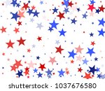 usa patriot day background with ... | Shutterstock .eps vector #1037676580