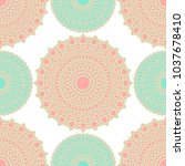 ethnic seamless pattern....   Shutterstock .eps vector #1037678410
