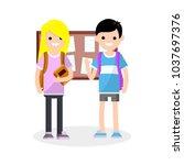 cartoon flat illustration  ...   Shutterstock .eps vector #1037697376