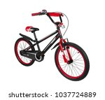 bicycle for children isolated... | Shutterstock . vector #1037724889