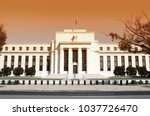 federal reserve building in... | Shutterstock . vector #1037726470