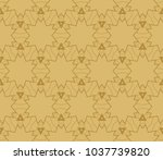 abstract repeat backdrop.... | Shutterstock .eps vector #1037739820