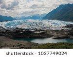 matanuska glacier  ak   Shutterstock . vector #1037749024