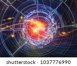 technology of numbers series....   Shutterstock . vector #1037776990