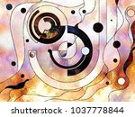 stained glass forever series.... | Shutterstock . vector #1037778844