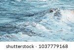 beach as wallpaper    the shore ... | Shutterstock . vector #1037779168