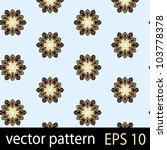 floral pattern. seamless vector ... | Shutterstock .eps vector #103778378
