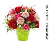 Artificial Rose Flowers In...