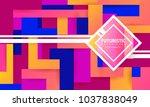 abstract background modern...   Shutterstock .eps vector #1037838049