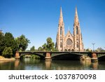 st. paul's church  a major... | Shutterstock . vector #1037870098