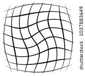 grid  mesh  lattice with... | Shutterstock .eps vector #1037883649