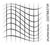 grid  mesh  lattice with... | Shutterstock .eps vector #1037883739