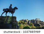 The Royal Scots Greys Monument...
