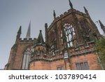 holl trinity church  broadgate  ... | Shutterstock . vector #1037890414