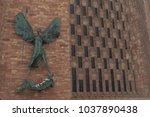 coventry  england  uk   3rd... | Shutterstock . vector #1037890438