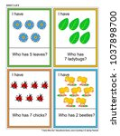 educational math game   i have... | Shutterstock .eps vector #1037898700