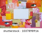 creative atmosphere art mood... | Shutterstock . vector #1037898916