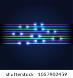 fiber optic connection concept... | Shutterstock .eps vector #1037902459