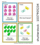 educational math game   i have... | Shutterstock .eps vector #1037905234