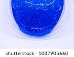 slime  alien drool  or shell... | Shutterstock . vector #1037905660