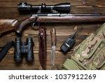 Hunting Rifle And Ammunition O...