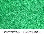 green glitter sparkle...   Shutterstock . vector #1037914558