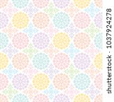 colorful background with... | Shutterstock .eps vector #1037924278
