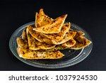 Traditional Turkish Pide Slice...