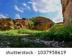 the old city of jerash   jordan   Shutterstock . vector #1037958619