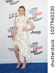 Small photo of Amanda Seyfried at the 2018 Film Independent Spirit Awards held at Santa Monica Beach, USA on March 3, 2018.