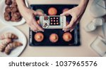 cropped image of attractive...   Shutterstock . vector #1037965576