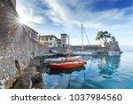 greece  europe. scenic spring...   Shutterstock . vector #1037984560