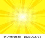 comic book poster background...   Shutterstock .eps vector #1038002716